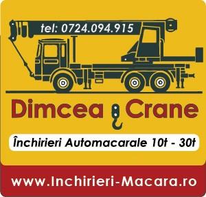 Dimcea Crane - automacara de inchiriat