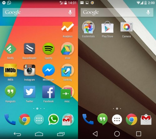 Android L noul sistem