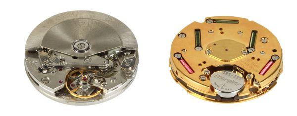 Ceas mecanic versus ceas cu quartz