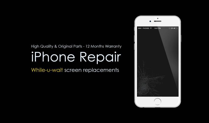 Tu unde iti repari iPhone-ul?