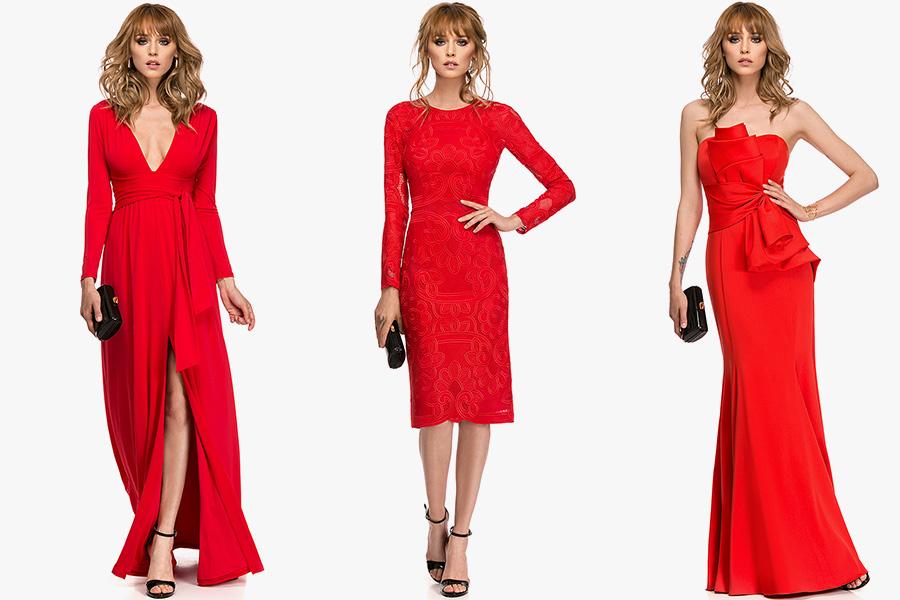 Cum poti purta o rochie rosie de seara?