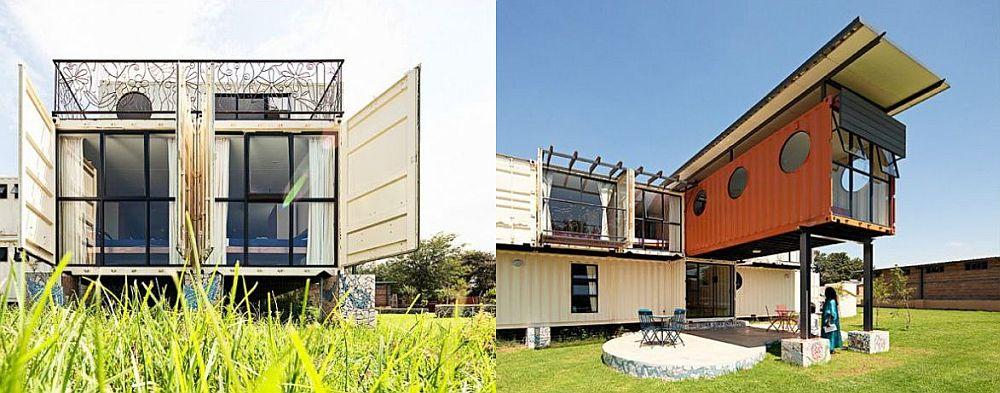 Se merita sa ai o casa construita din containere?